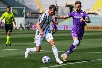 Ramsey podría dejar la Juventus si Pogba vuelve al club. AFP