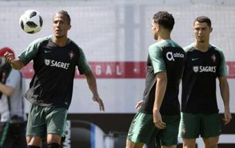 La última aventura de Bruno Alves lo llevará a Grecia. AFP
