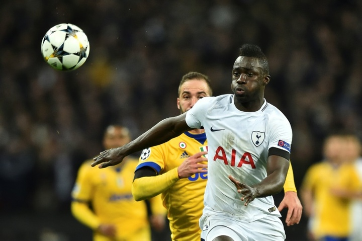 Davinson Sanchez has been rumoured to play in the Spanish league. AFP