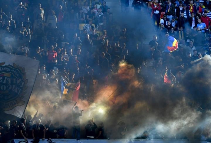 De ganar la Liga Rumana a poder desaparecer en apenas cinco años. AFP/Archivo