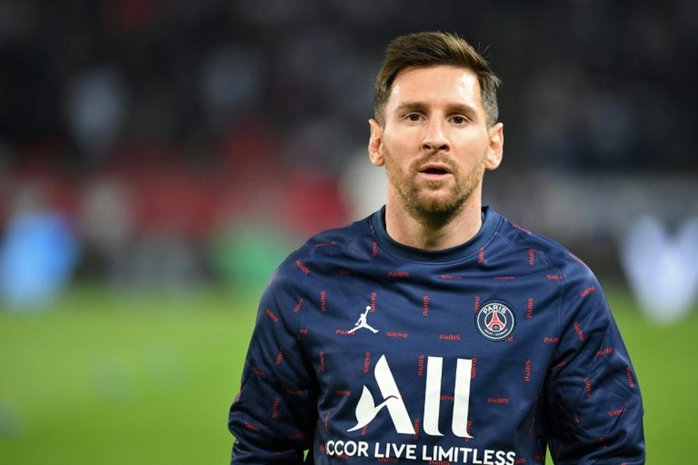 Mídia francesa vê Messi no XI inicial contra o City. AFP