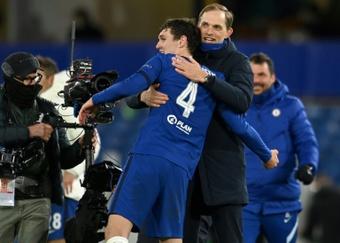 Christensen, a punto de renovar con el Chelsea. AFP
