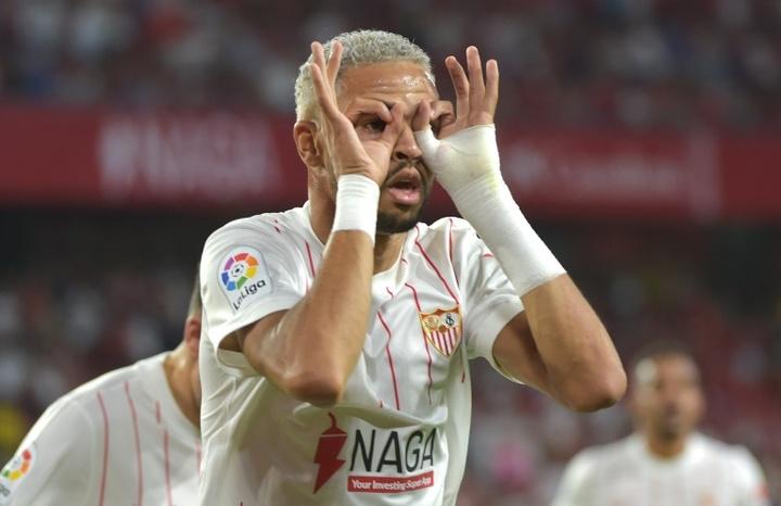 Arsenal quer En-Nesyri como sucessor de Aubameyang.AFP