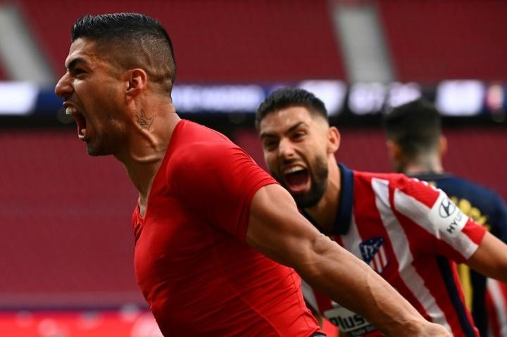 Luis Suarez : Je ne savais pas que j'allais souffrir autant. afp