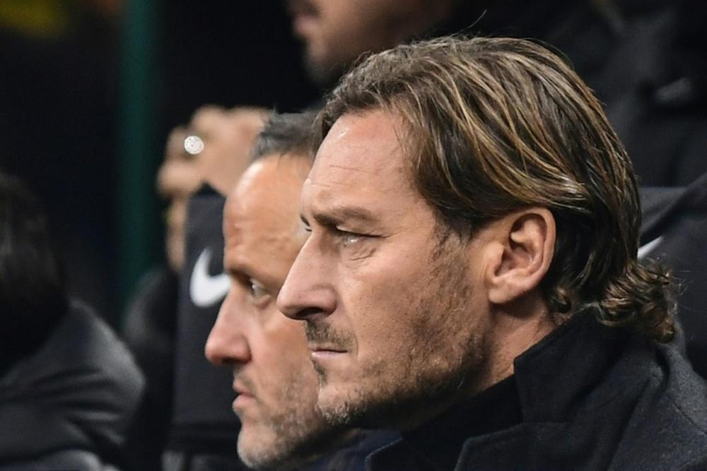 Totti fala sobre proposta do Real.AFP