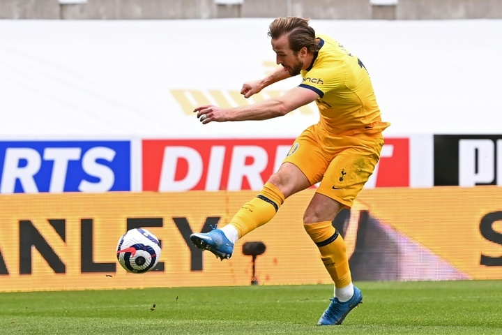 29 not out: Harry Kane took his tally for the season to 29 with a double against Newcastle. AFP