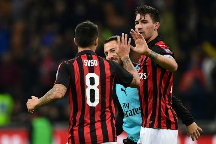 Le Barça exclut un échange Junior Firpo-Romagnoli avec Milan. AFP