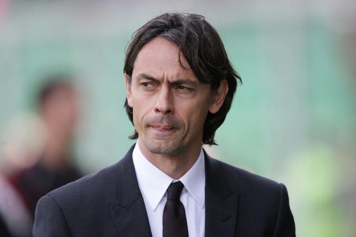 Filippo Inzaghi, nuevo entrenador del Brescia. AFP