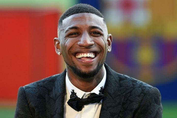 Emerson salió del Barcelona en el mismo año de su llegada. AFP