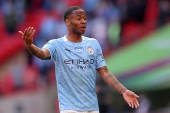 Sterling podría llegar para cubrir el hueco de Dembélé. AFP