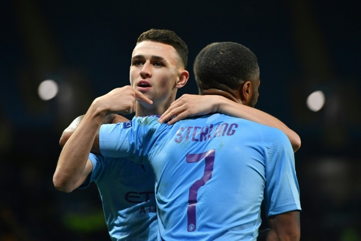 City want to renew Sterling, Ederson and Foden as soon as possible. AFP