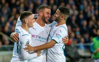 Ligue des champions: City se promène à Bruges. AFP
