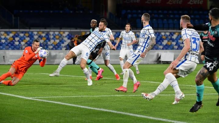 Handanovic saldrá del Inter al final de temporada. AFP