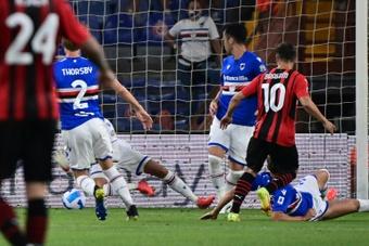 Il Milan vince alla prima uscita. AFP