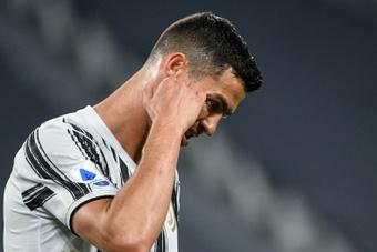 Gravina comentó el fichaje de Cristiano por la Juve. AFP