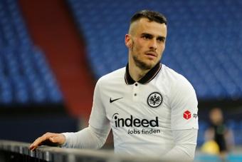 Kostic pode trocar o Eintracht pelo Newcastle. AFP