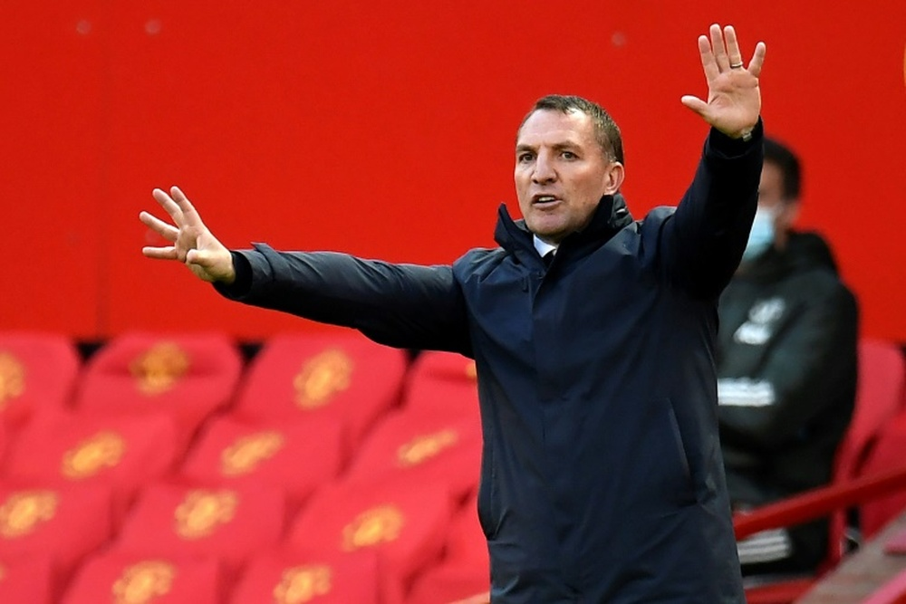City wants Rodgers as Guardiola's replacement. AFP
