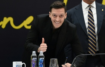 Ozil's contract at the Turkish club runs until 2024. AFP