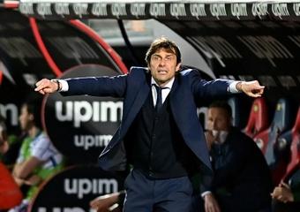 Conte es uno de los favoritos para llegar al United. AFP
