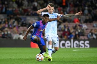 Ansu Fati a refusé des offres mirobolantes du PSG, Liverpool, et Manchester United. AFP