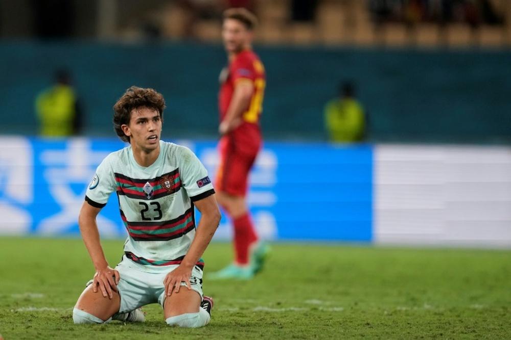 Joao Felix n'a pas été convoqué par le Portugal pour la trêve d'octobre. AFP
