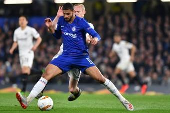 Loftus-Cheek tendrá pocas oportunidades en el Chelsea. AFP