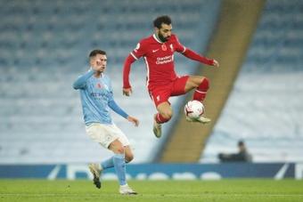 Em mais um espetáculo, Liverpool e City ficam no empate. AFP