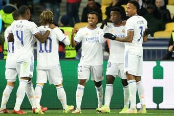 Le Real Madrid déroule contre le Shakhtar. AFP