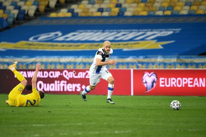 Pukki tomó la palabra antes del debut de Finlandia en la Eurocopa. EFE/EPA/Archivo
