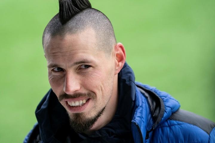 El Trabzonspor quiere fichar a Hamsik. AFP