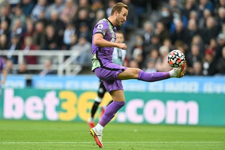 El Tottenham, triunfador y airoso. AFP