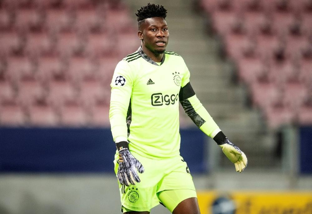 Onana saldrá del Ajax a final de temporada con dirección al Inter. AFP