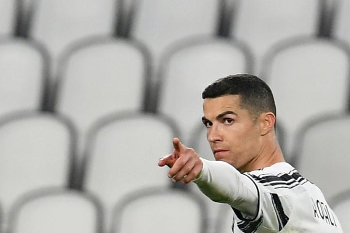 Cristiano seguirá en la Juventus. AFP