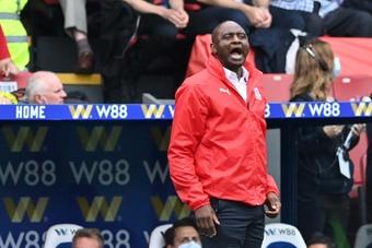 Patrick Vieira, un invincible en visite à Arsenal. AFP