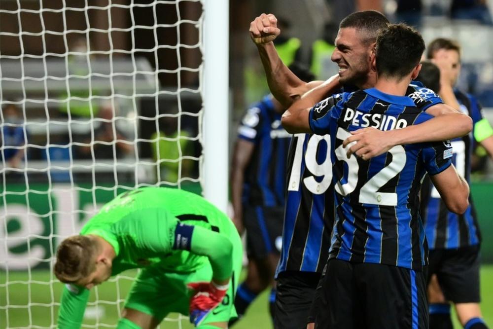L'Atalanta batte lo Young Boys. AFP