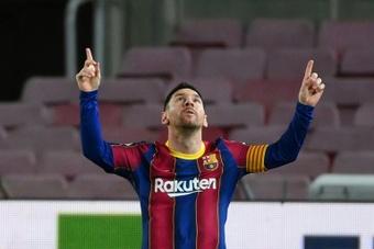 Lionel Messi has scored eight goals in his last eight appearances in La Liga. AFP