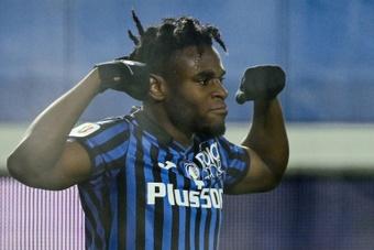 Le formazioni ufficiali di Sampdoria-Atalanta. AFP