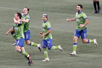 Cinco jóvenes de Seattle Sounders deslumbran en la MLS. AFP