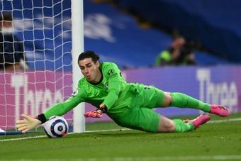 Kepa será titular no jogo contra o Aston Villa. AFP