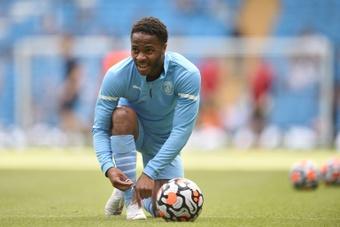 Sterling le abrió las puertas al Barça. AFP