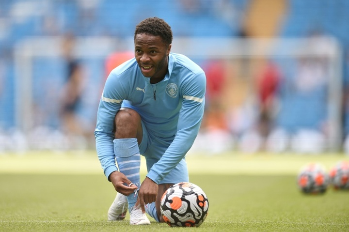 Sterling could be Dembele's replacement at Barça. AFP