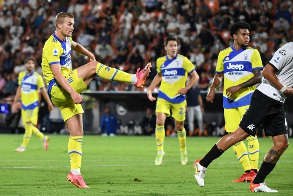 La Juventus venció 2-3 al Spezia. AFP
