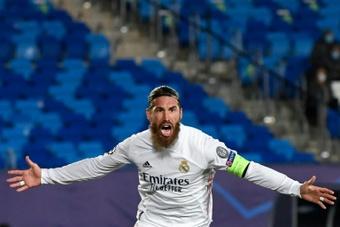 Ramos chiese aiuto ad Ancelotti per restare a Madrid. AFP
