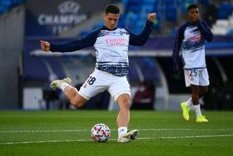 Luka Jovic could move to Juventus. AFP