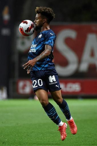Konrad de la Fuente has made an impressive start with Marseille. AFP