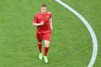 Confira os convocados da Seleção da Bélgica. AFP
