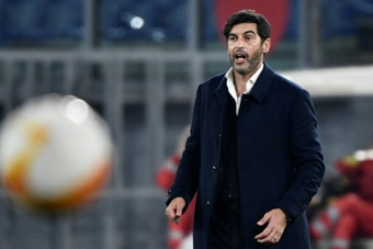 Portuguese coach Paulo Fonseca could be Newcastle's new manager. AFP