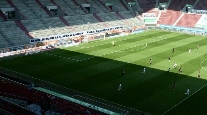 Solo en Augsburgo hubo goles en los otros tres partidos. AFP/Archivo