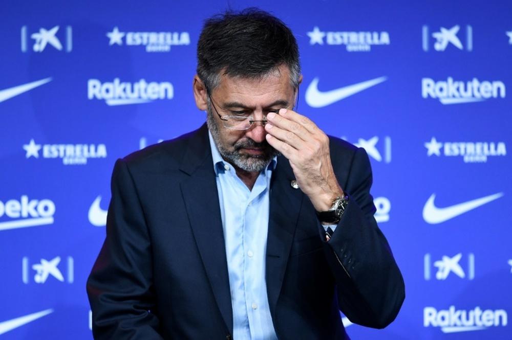 La gestión de Bartomeu es considerada nefasta por muchos, pero no por Lendoiro. AFP/Archivo