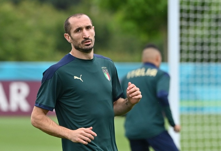Chiellini has asked for a contract for two seasons and five million euros a year. AFP